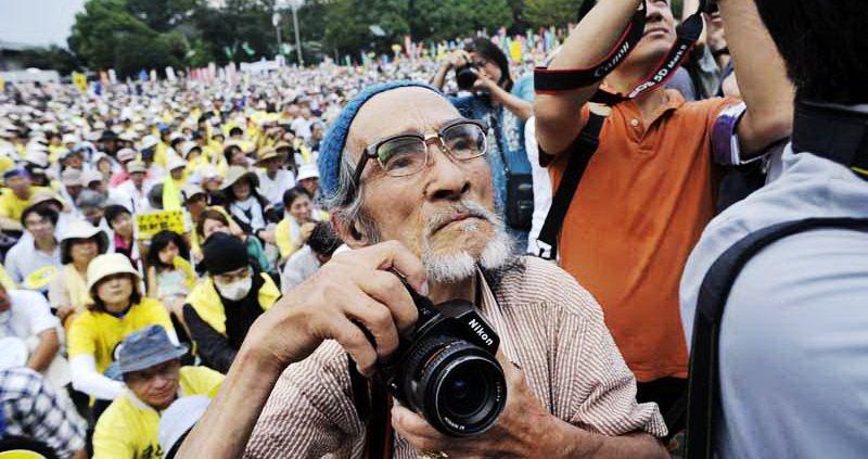 反核摄影师 福岛菊次郎 老爷爷,已经於九月廿四日辞世.