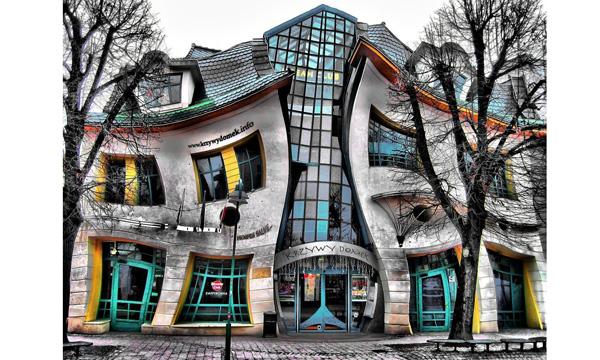 艺术造型房子图片